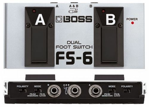 Boss Footswitch FS-6