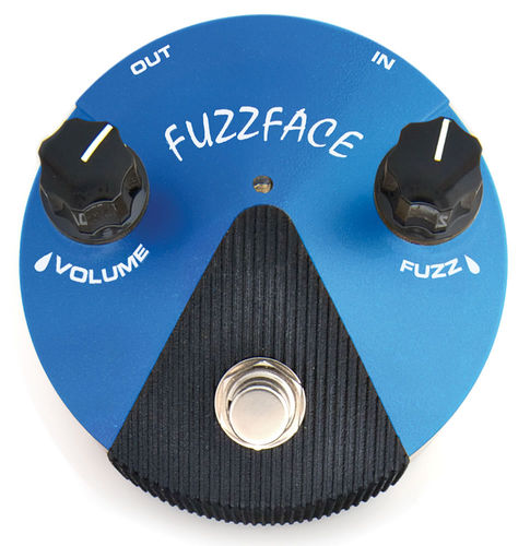 Dunlop Fuzz Face Mini Blue