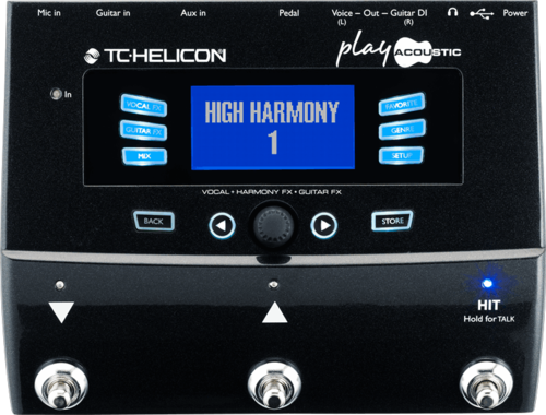 TC Helicon Play Acoustic Vorführmodell