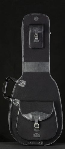 Harvest Guitar Bag Buffalo Canvas Black Archtop/Dreadnought