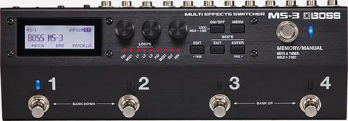 Boss MS-3 Multi Effects Switcher