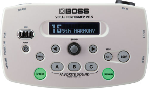 Boss VE-5 WH Vocal Performer
