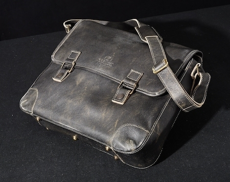 Harvest Laptop Bag Cow Antique