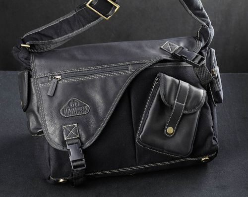 Harvest Utility Mac Bag Top Grade Black